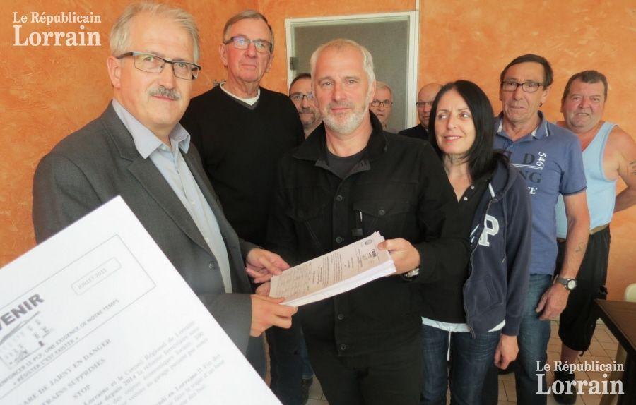 Conflans-Jarny : 1313 signatures contre les suppressions de trains