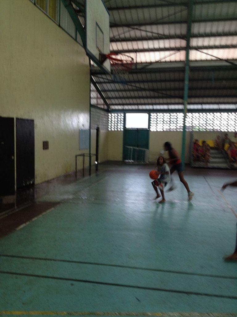 PHOTOS DE LA RENCONTRE DE BASKET-BALL A PAPARA (08.10.2014)