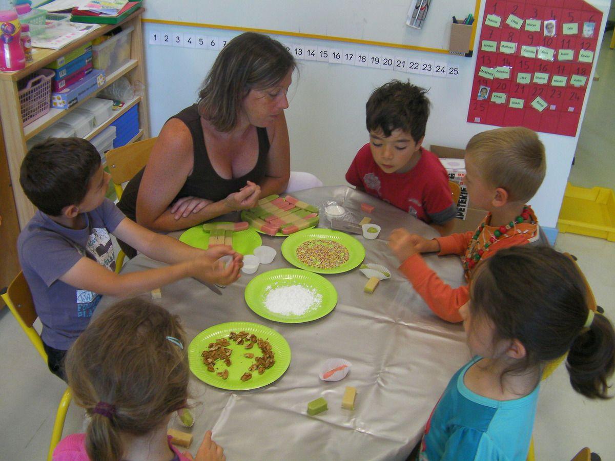 Ateliers cuisine en secret la maternelle de c line - Atelier cuisine maternelle ...