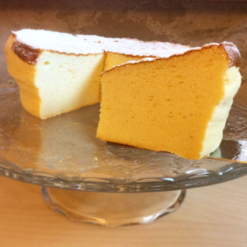 Japanes Cotton Cheesecake ( un nuage de fromage blanc ) !!!