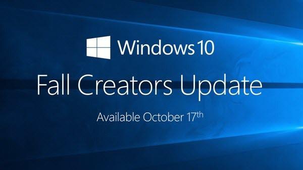 Windows10 Fall Creators Update - Les nouveautés et disparitions