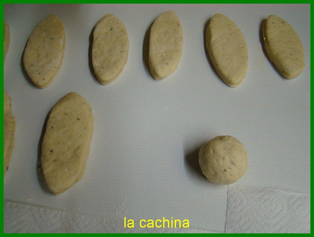 Petits pains à garnir (canapés)