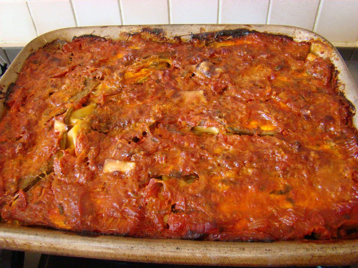 Les lasagnes de légumes provençaux au four