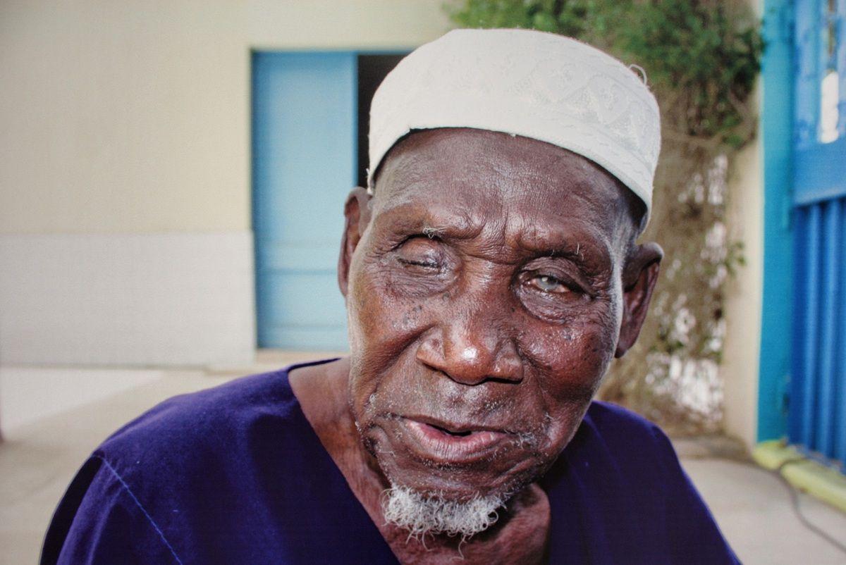 Hamadi Diop, vétéran de la 2nde guerre mondiale. Crédit : Yero Djigo