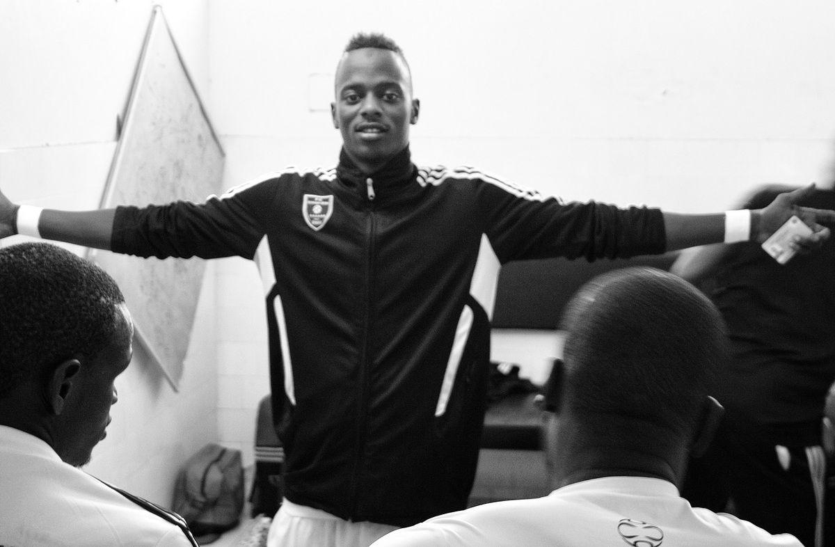 Abdoulaye Sy, milieu du FC Tevragh Zeïna. Crédit : MLK/Mozaikrim