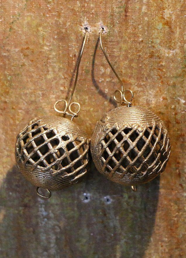 Boucles en bronze Akan.