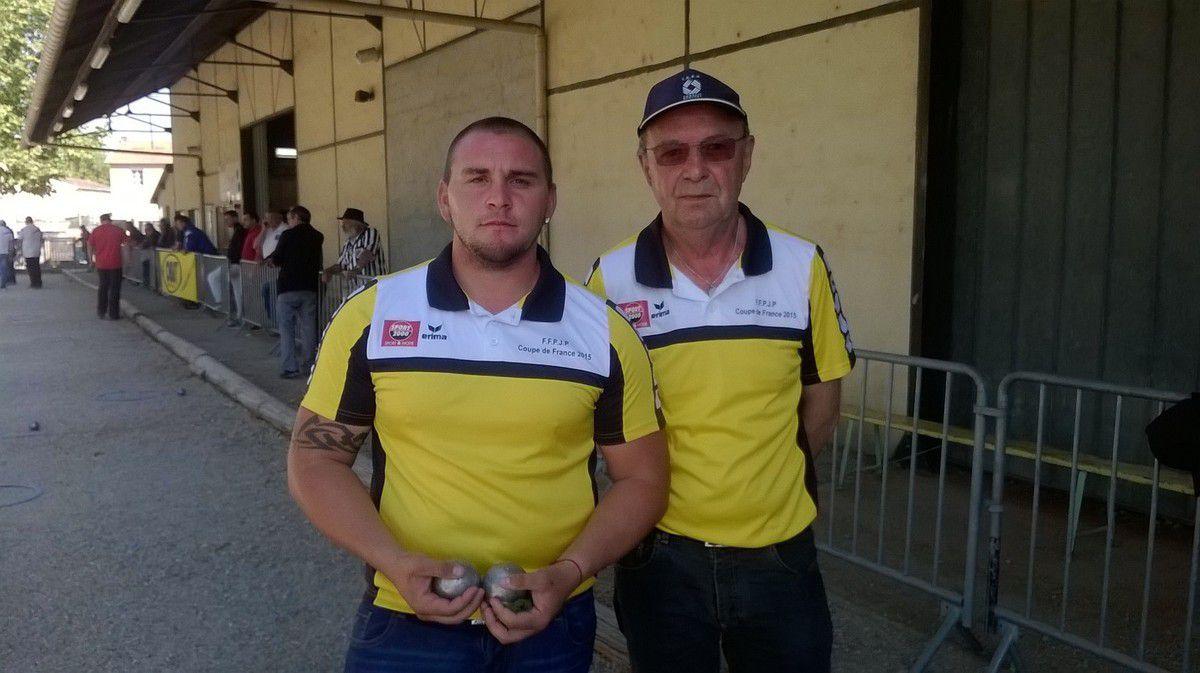 Championnat du Tarn doublette 2015