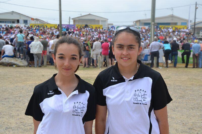 Championnat de France doublette féminine 2015