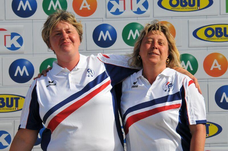 Championnat de France doublette féminin 2015
