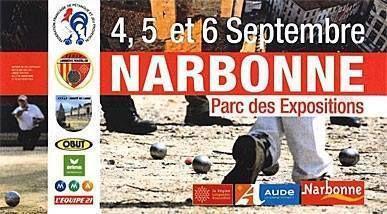 Championnat de France triplette 2015 à Narbonne