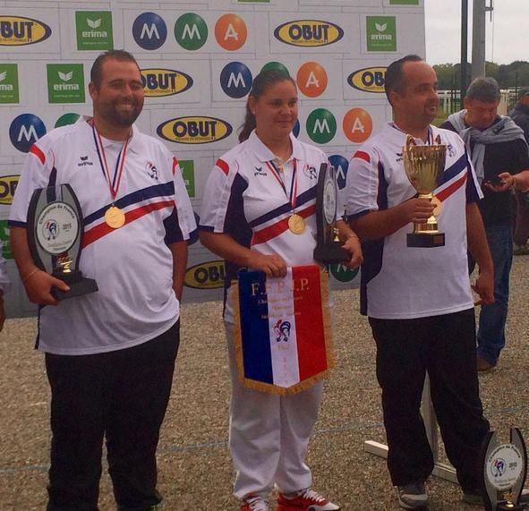 Championnat de France doublette (H) et TàT (F) 2015 PAU