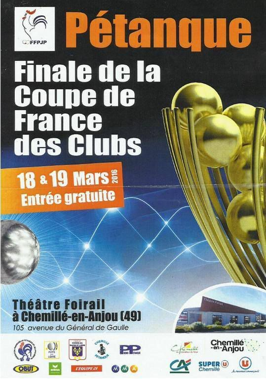 Coupe de France des clubs 2016