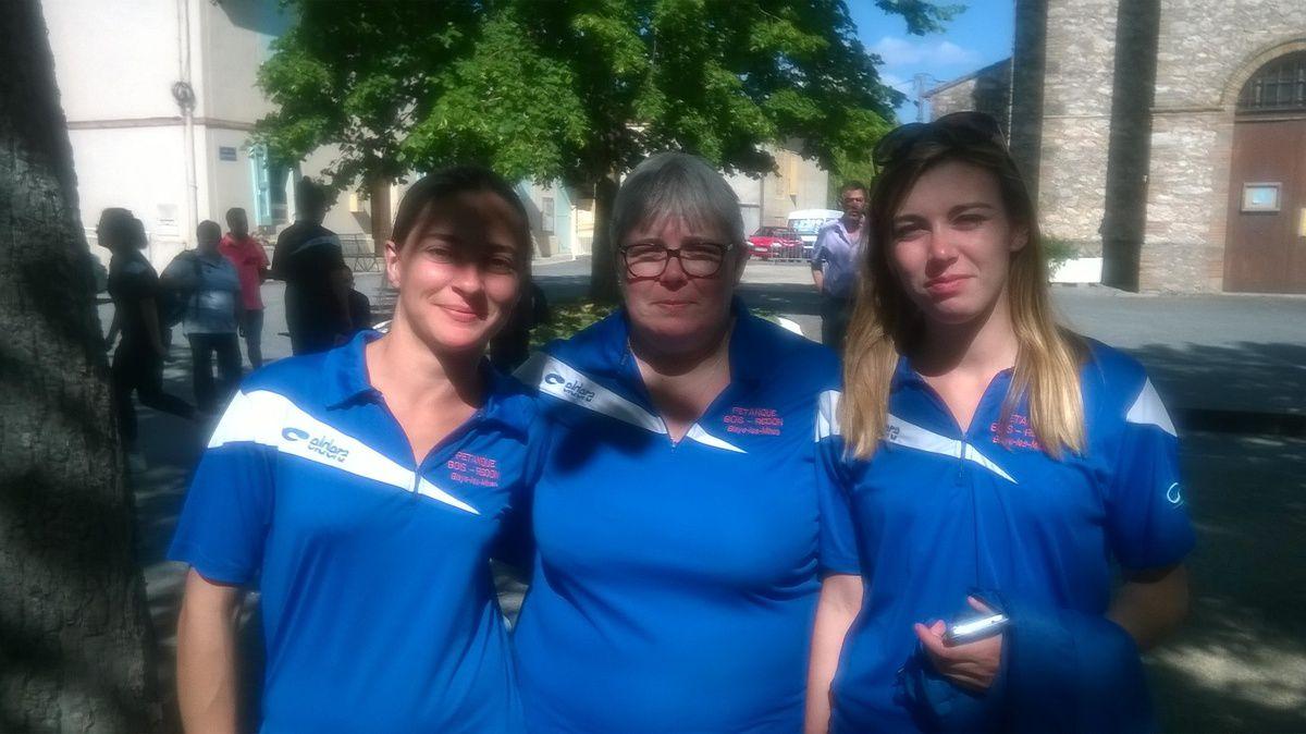 Championnat du Tarn triplette féminin 2016