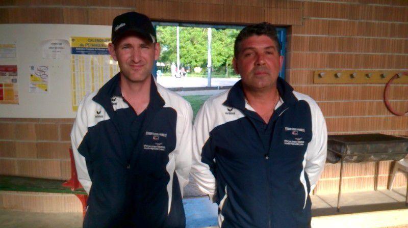 Championnat du Tarn doublette 2016 St Juéry
