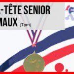 CHAMPIONNAT de FRANCE DOUBLETTE FEMININ 2017  à CARMAUX