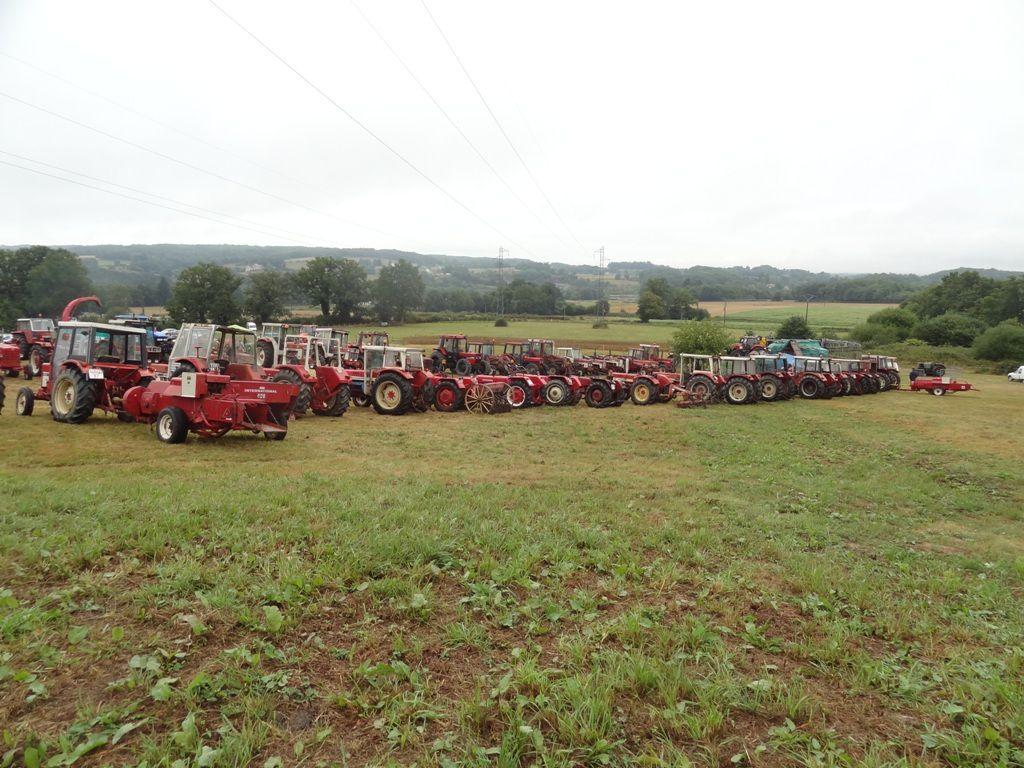 Folles 2015, le rassemblement des tracteurs rouges