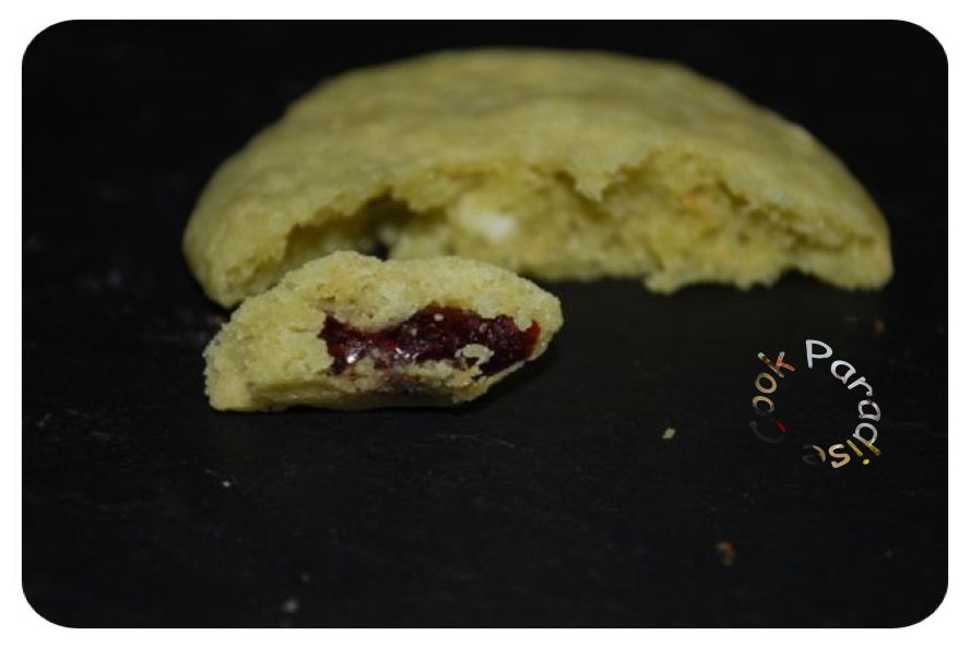Cookies pistache-cranberries