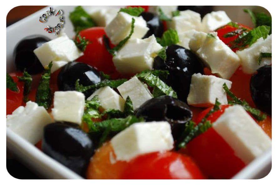 Salade Grecque fruitée (nouvelle version)