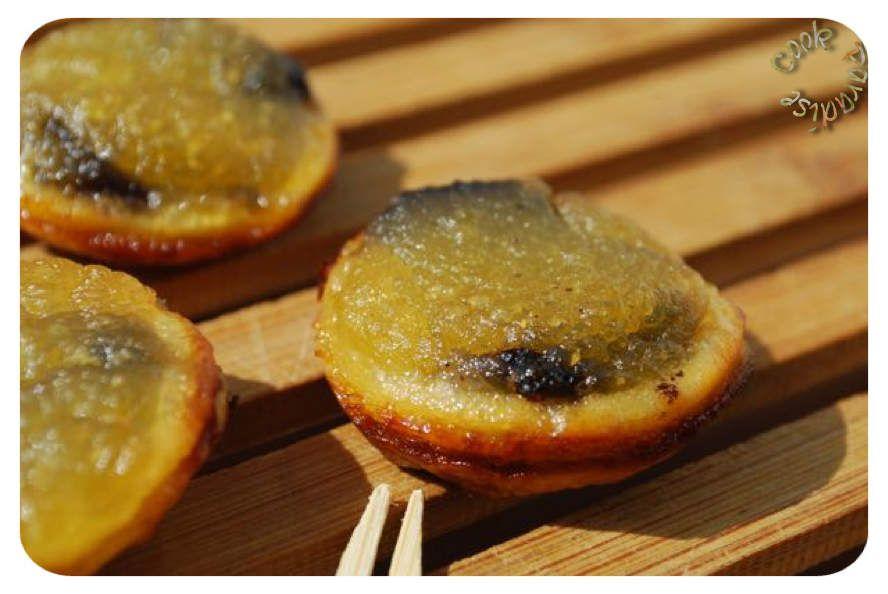 Tartelettes apéritives Pomme-Boudin