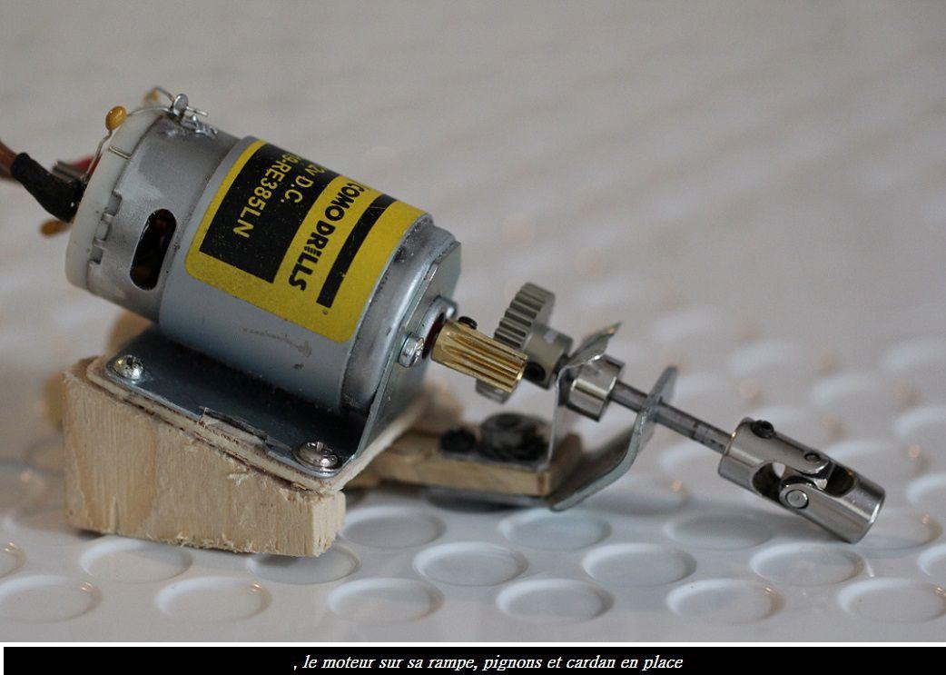 Remplacement moteur du sardinier Lubache
