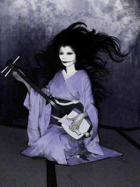 Kuchisakeonna, « femme à la bouche fendue »