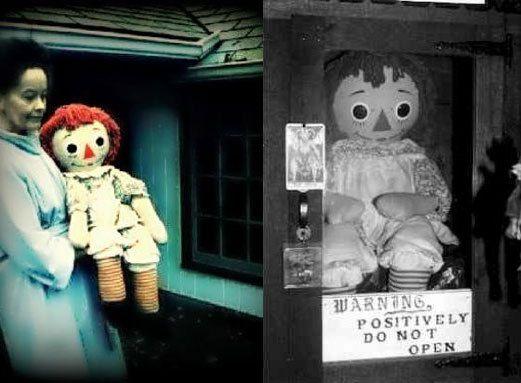 La poupée Annabelle