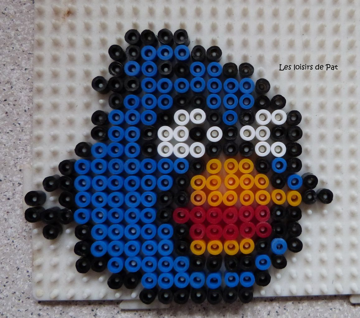 Perles a repasser : Angry Birds