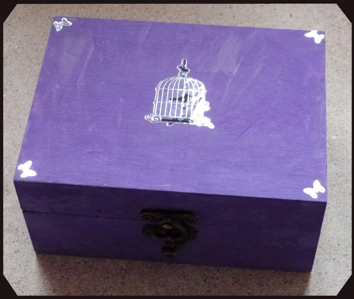 Une boite à bijoux de la part de Nathan qui est en CM2.
