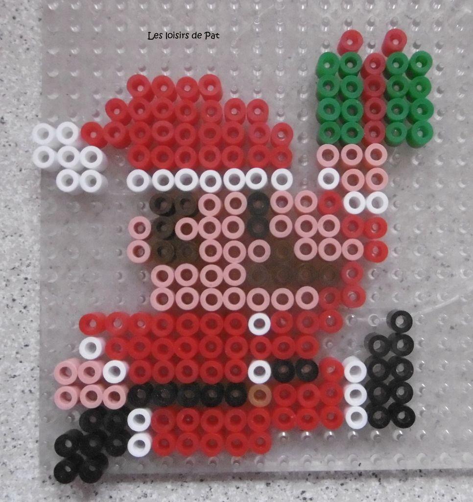 Perles à repasser : Mario Noël