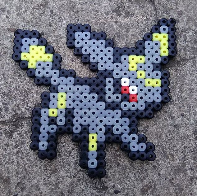 Perle Hama Pokemon Legendaire
