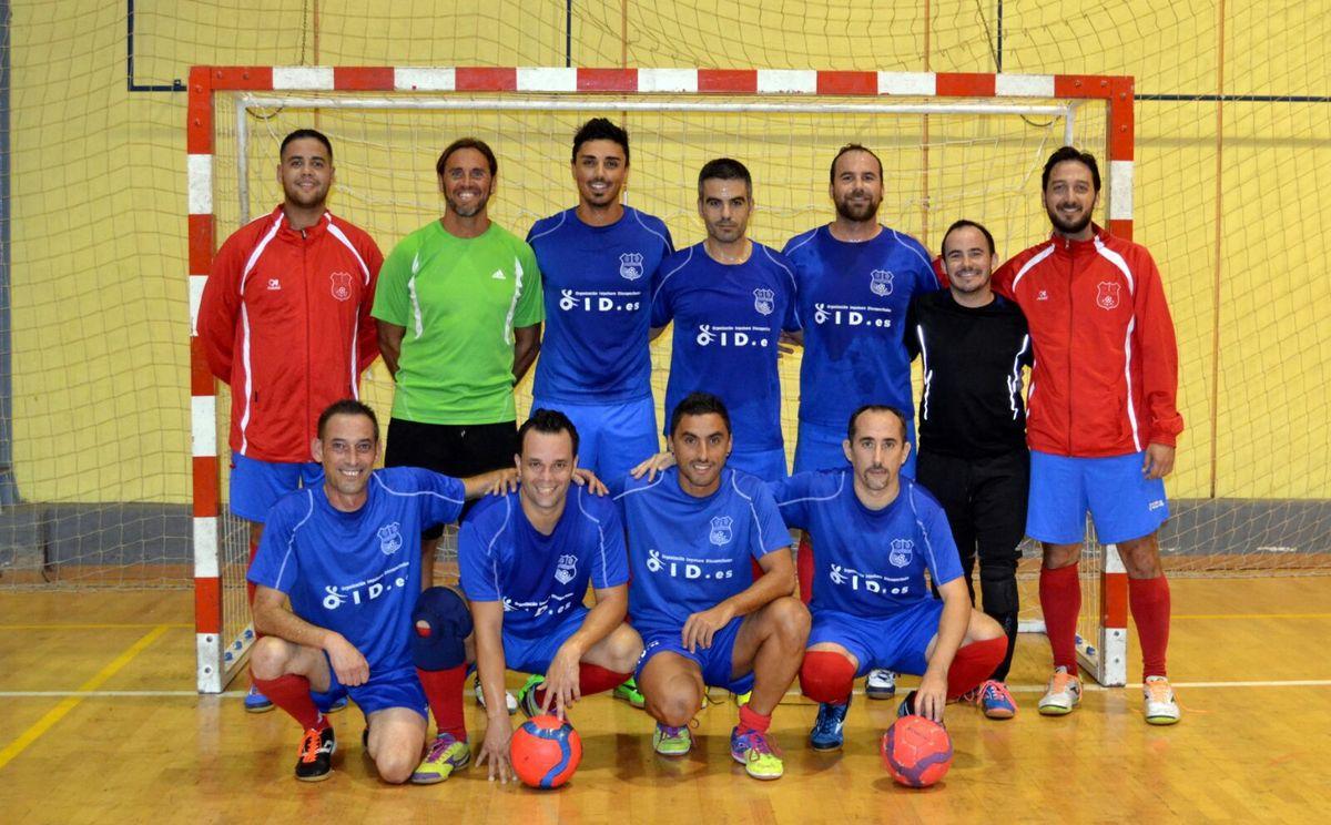 El equipo de fútbol sala OID Canarias comienza la liga con victoria.