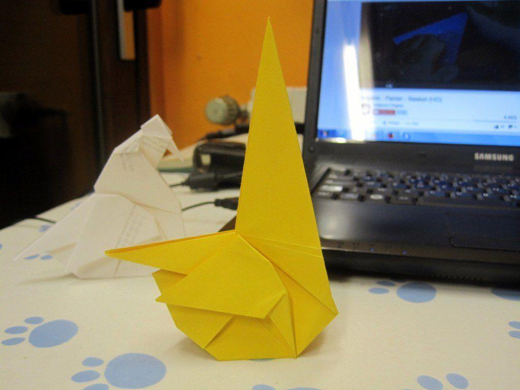 2ème essai - J'ai voulu tester un papier un peu cartonné : trop épais ! J'ai abandonné avant la fin.