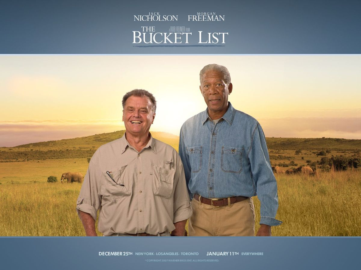 THE BUCKET LIST (SANS PLUS ATTENDRE)