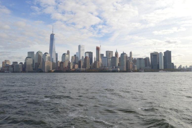 ...nous permet d'admirer la skyline...