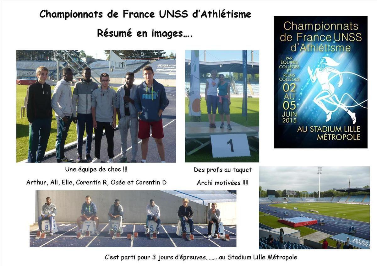 CHAMPIONNAT DE FRANCE D'ATHLETISME EN IMAGES