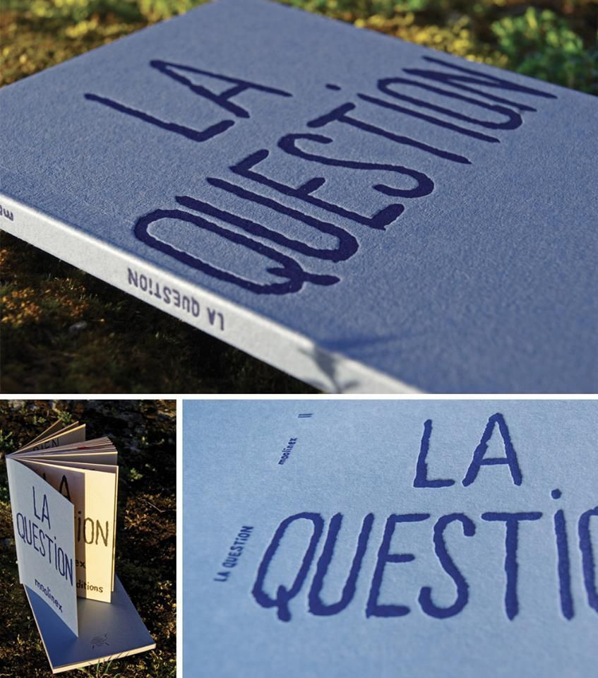 Livre LA QUESTION (Edition Superloto) 2013