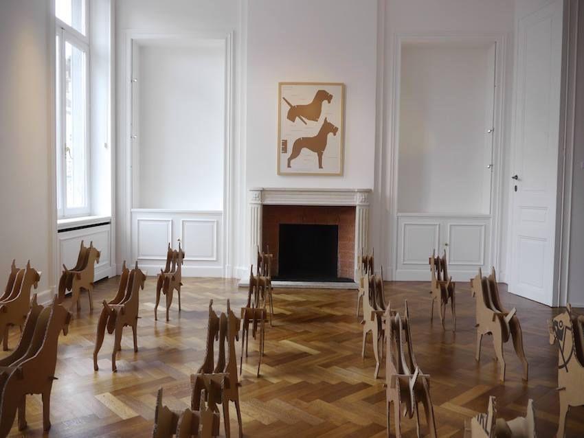 Galerie Nadine Ferrond, Bruxelles, Belgique, 2014