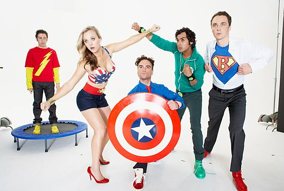 THE BIG BANG THEORY : Theory of Relativity Saison 4