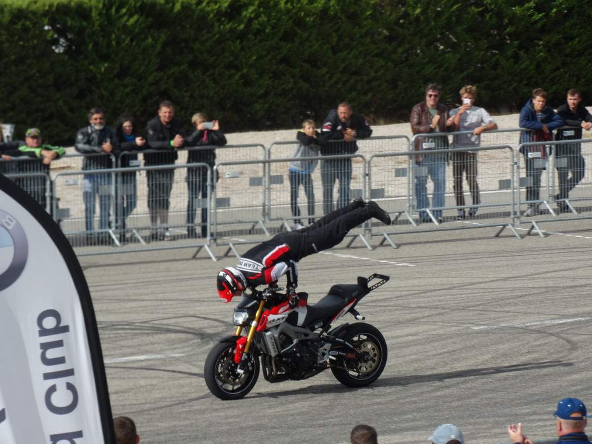 Show stunt, bol d'Or 2016, France
