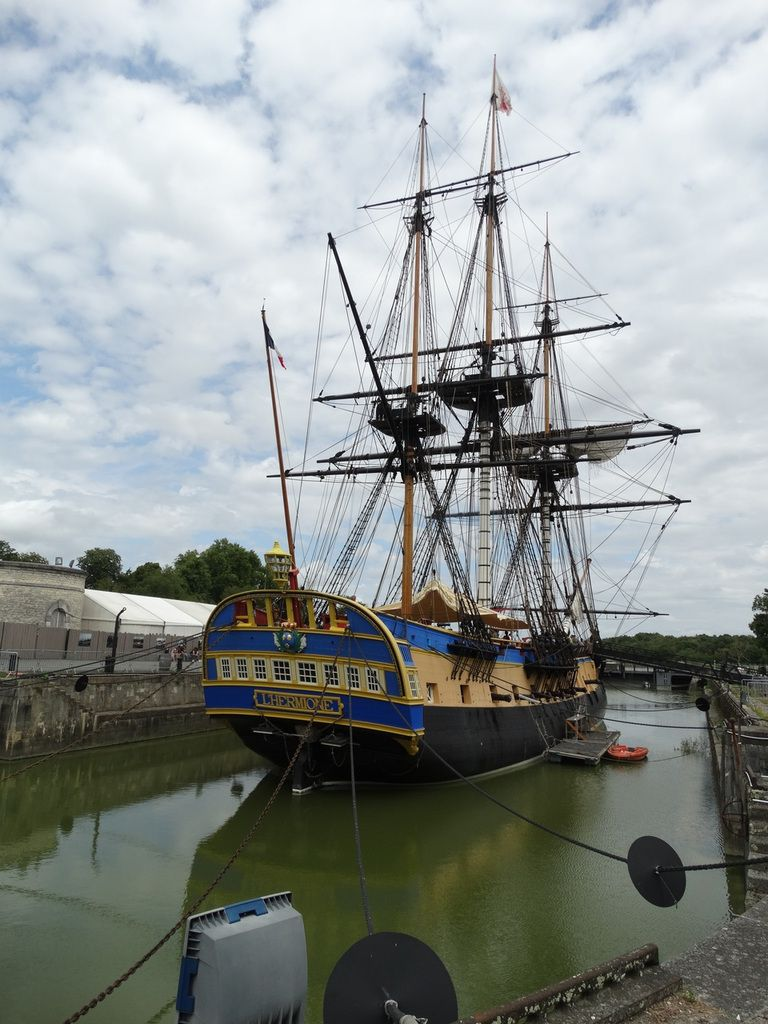l'Hermione, Rochefort, France