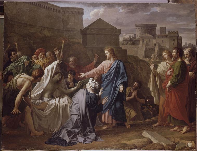 RESURRECTION DU FILS DE LA VEUVE DE NAIM