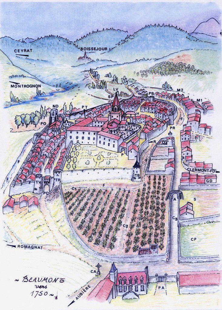 Histoire d'un bourg viticole: Beaumont