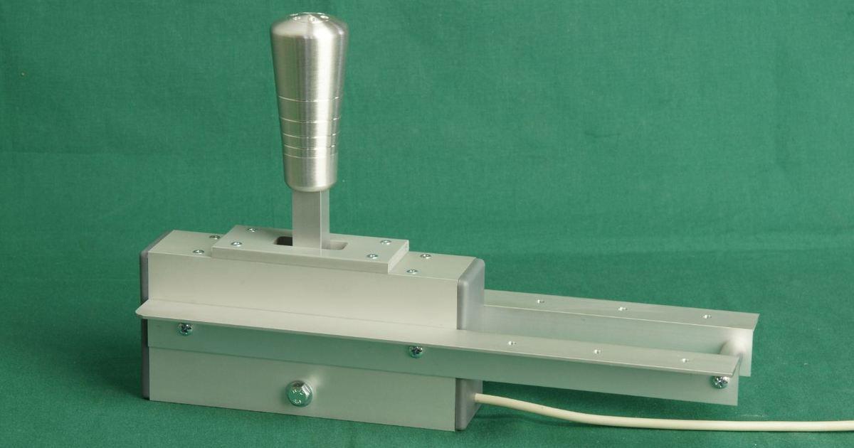 Construction d'un Shifter séquentiel  + un Frein à main pour simulateur