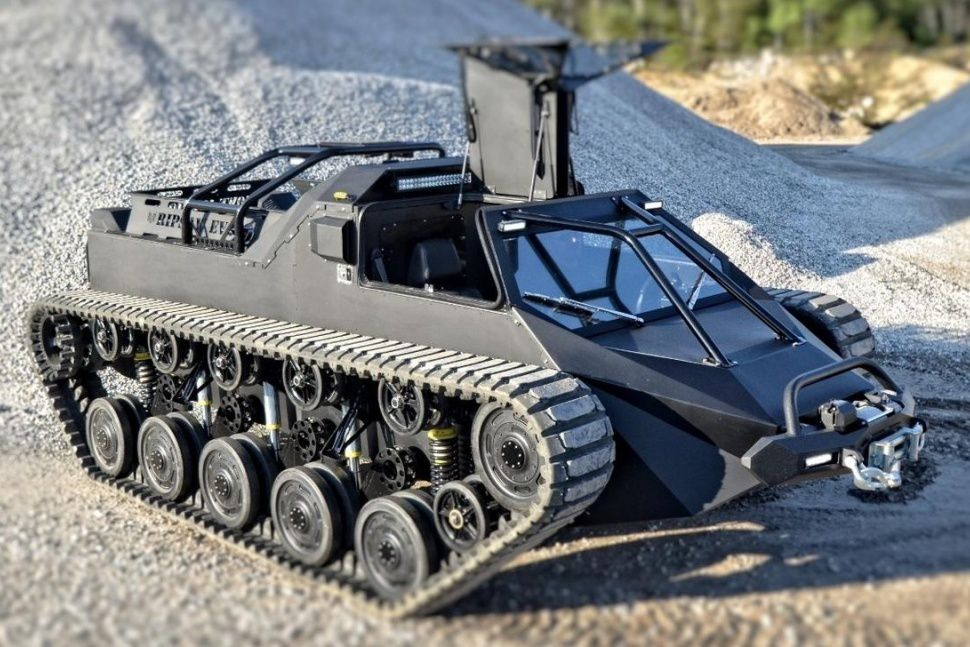 Construction d'un Ripsaw Tank - RC