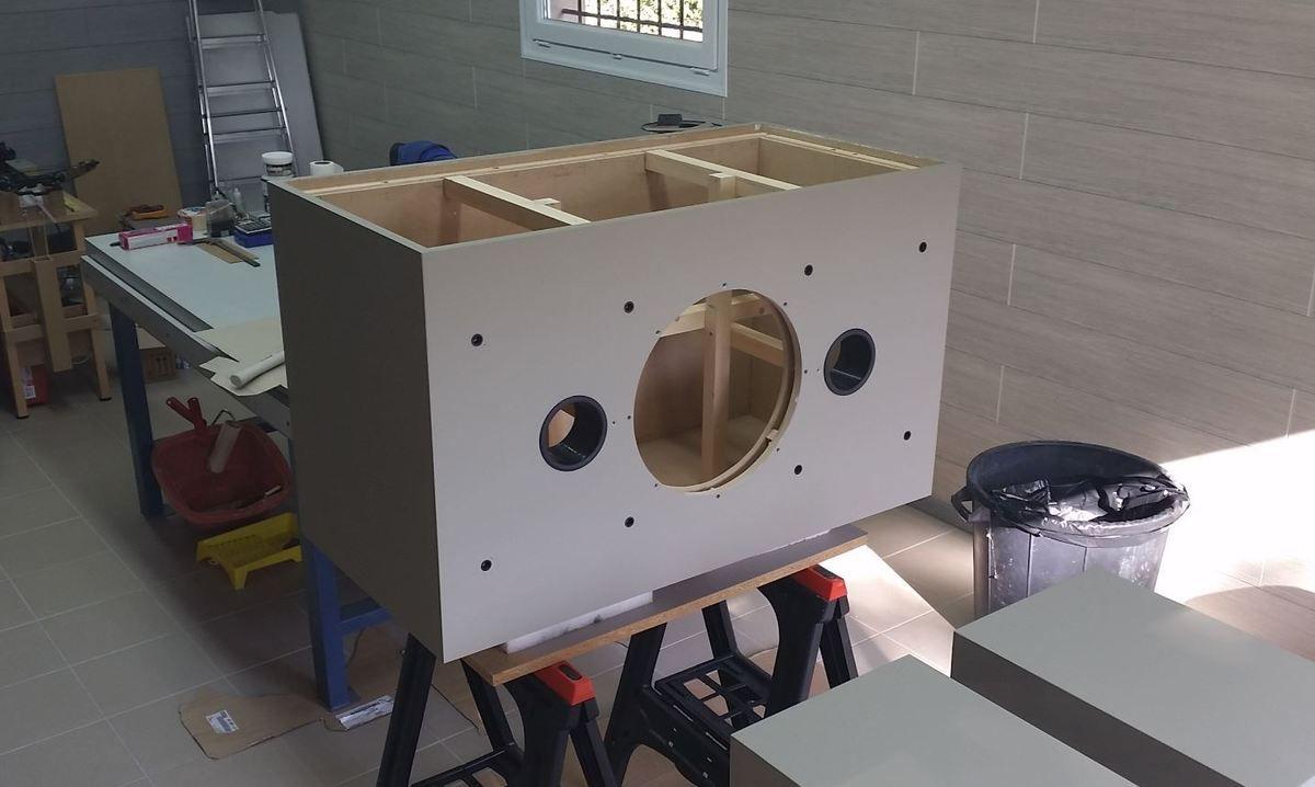 Construction d'un caisson de basse