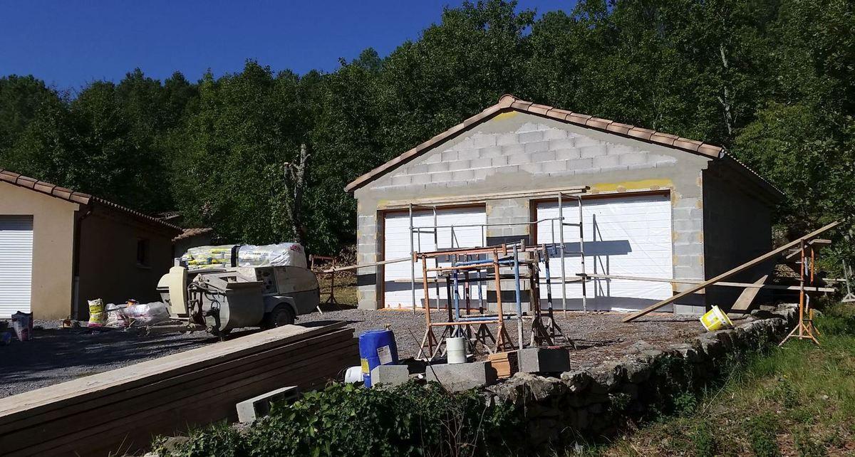 Construire un garage pour 2 véhicules