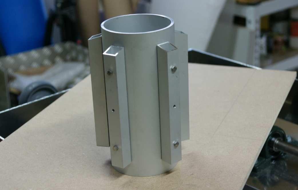 Construction d'un Lustre à ampoules Led
