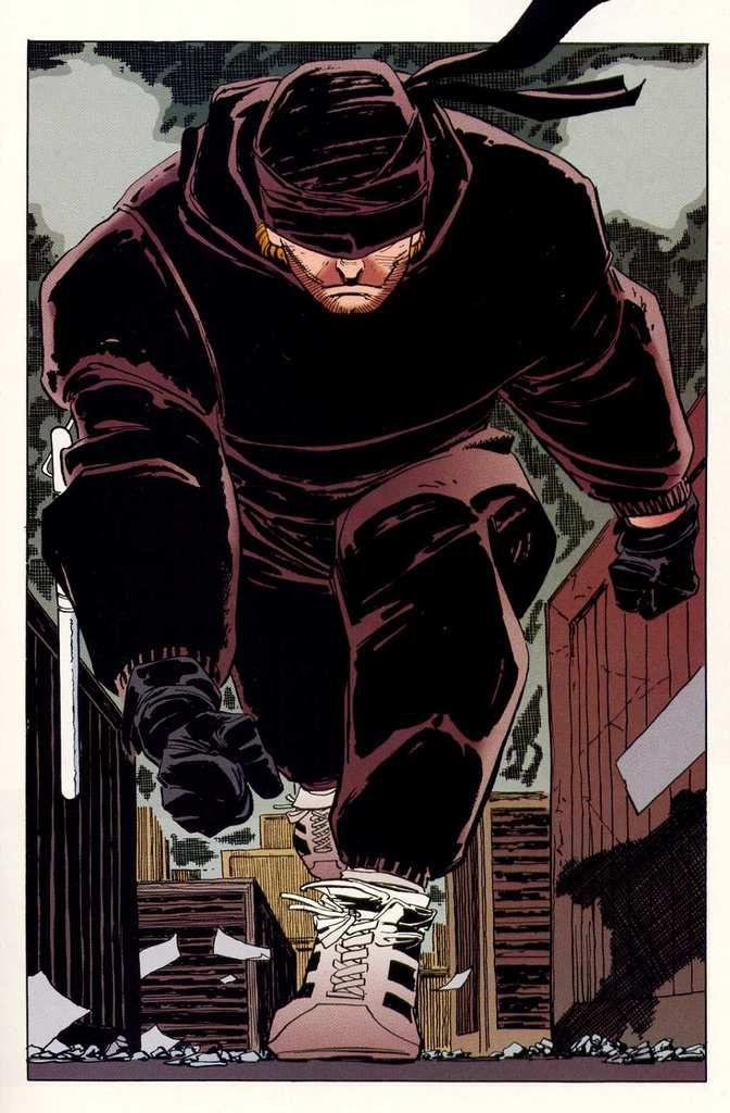 Un concept art de Daredevil version Netflix