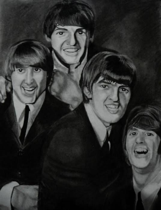 PORTRAITS LIBRES DES BEATLES