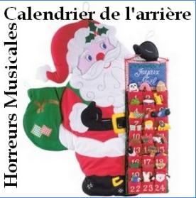 CALENDRIER DE L'ARRIERE - 3 -